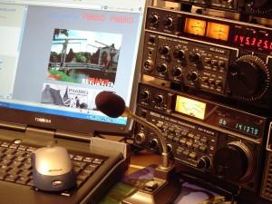 voorbeeld van radio zendapparatuur