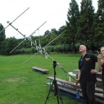 satelliet verbinding